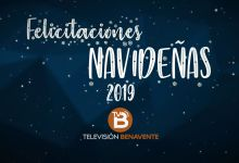 Photo of Felicitaciones Navideñas Televisión Benavente 2019