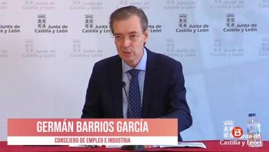 Photo of Verónica Casado y Germán Barrios, Comparecencia Junta de Castilla y León 28 de Marzo