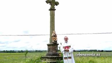 Photo of Bendición de los Campos en San Isidro Labrador, por el párroco de Vidriales