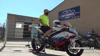 Photo of Carlos Blanco participa en la Handy España Superbike por un fin social