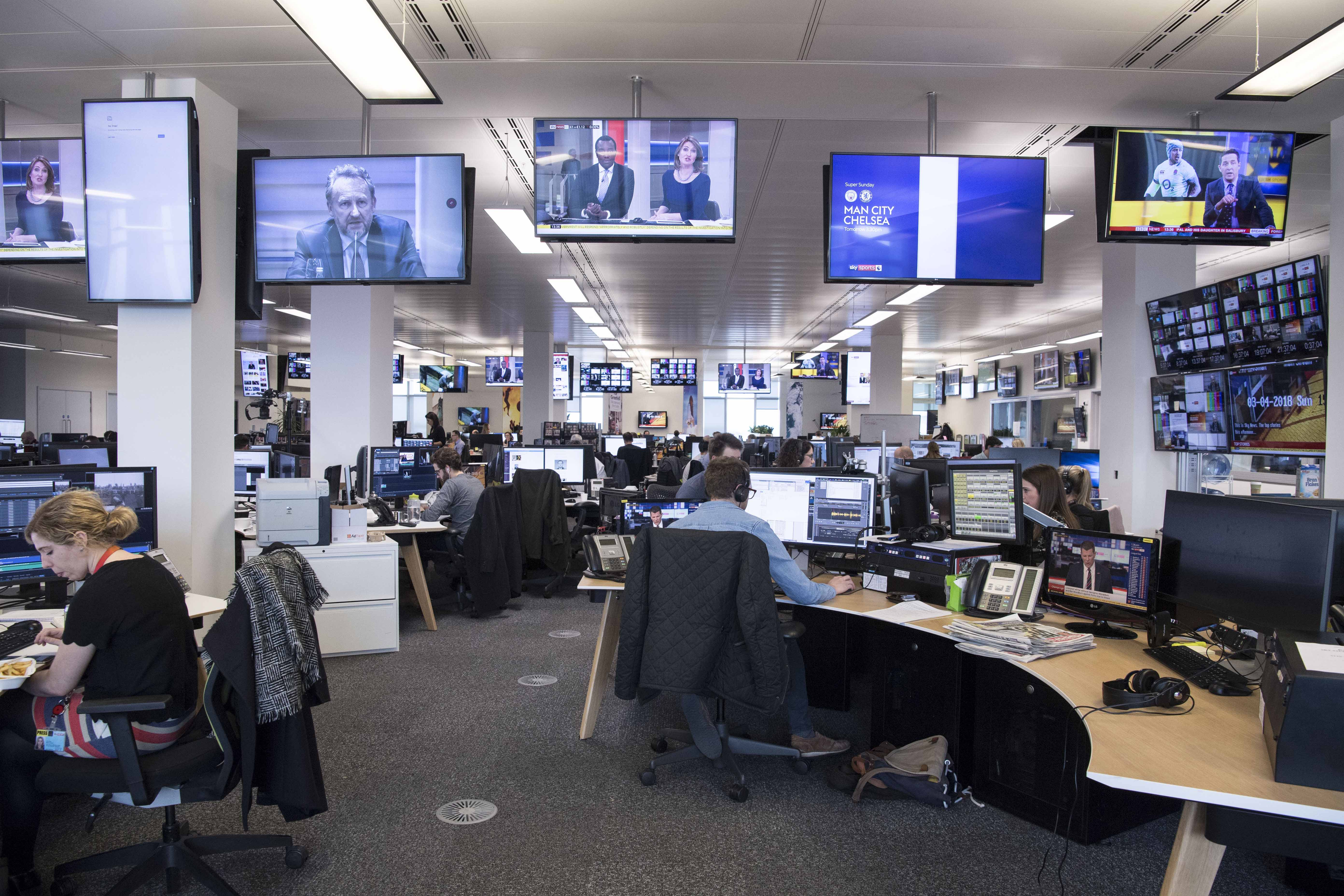 Satellite television is a popular option for television viewing without a cable subscription or antenna. Sky News to launch newsroom livestream - TVBEurope