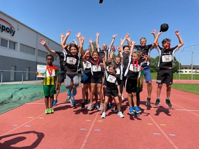 Sieben Medaillen am Seeländischen Nachwuchsmehrkampf in Lyss