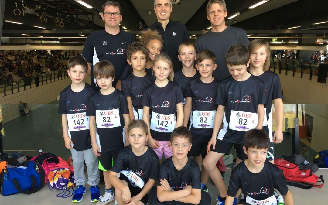 UBS Kids Cup Team in Bern – U10/U12, 3. Dezember 2017