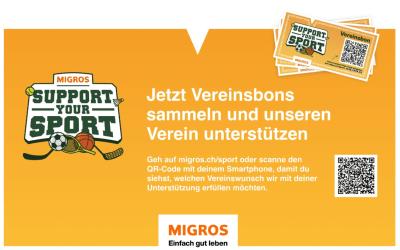 """""""Support your Sport"""" auf der TV Bolligen macht mit"""