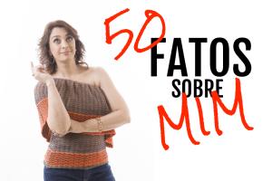 Catia Fonseca conta 50 fatos sobre ela que ninguém sabia