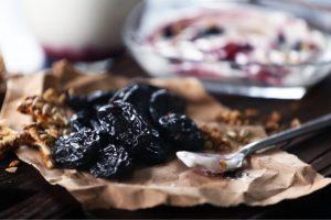 Geleia de ameixas pretas da Catia para regular o intestino