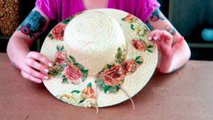 Aprenda a fazer um chapéu de praia estilizado com Lívia Costa