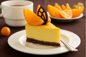 Receita da revista da Catia: Torta de laranja com chocolate