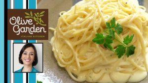 COMO FAZER: Fettuccine Alfredo do Olive Garden #tvcatiafonseca