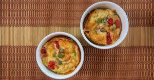 Clafoutis de queijo e tomate por chef Malu Lobo