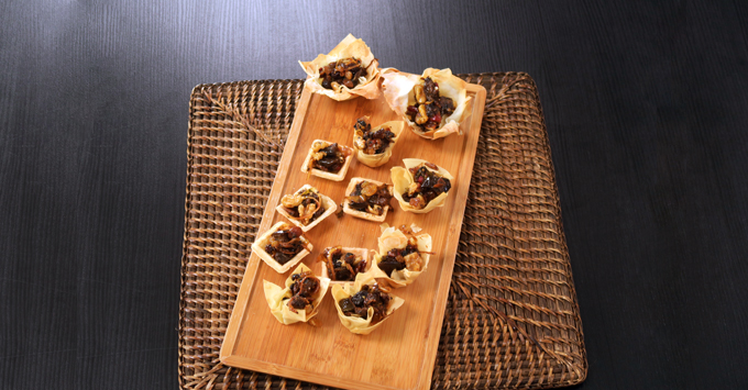 Canapé de legumes ao marmite por Bianca Folla