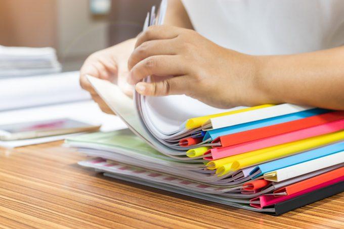Como organizar documentos por Ingrid Lisboa