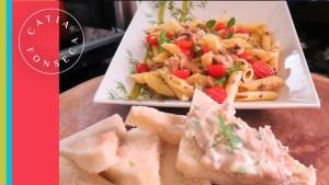 Como fazer: Macarrão com sardinha e patê de atum