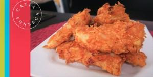 Aprenda a preparar um irresistível frango crocante com nachos!