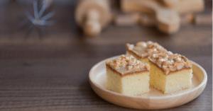 Receita da revista da Catia: bolo pralinê