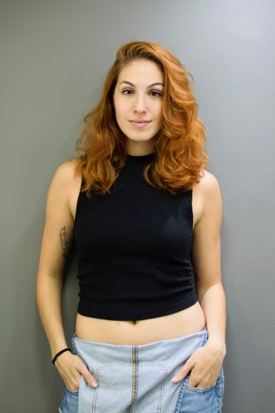 Tv Catia Fonseca Treine e faça o coque com franja falsa da Anitta