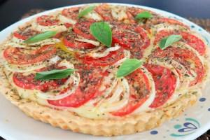 Torta de pizza da chef Ana Paula Novaes
