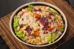 Salada fresh pós festas por Janaína Lorena