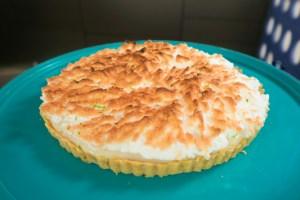 Torta de limão do chef Cássio Prados