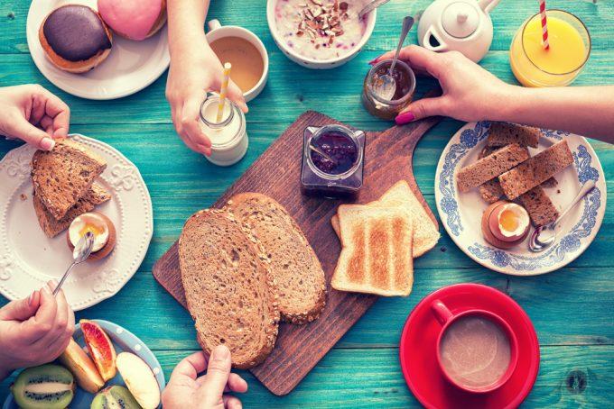 Café da manhã por Paula Mello
