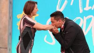 Catia Fonseca e Leo Dias selam as pazes após desavença há 5 anos