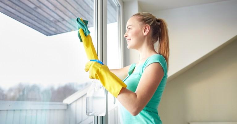 Vinagre para limpeza de rotina, de vidros e janelas