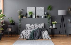 Plantas no quarto por Letícia Momesso
