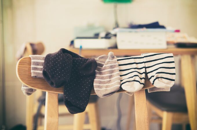 Como organizar meias por Ingrid Lisboa