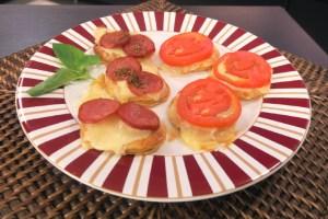 Pizza folhada maravilhosa da Catia!