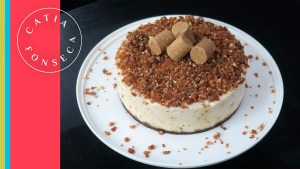 Prove a torta de paçoca com crocante da Catia! Hummm