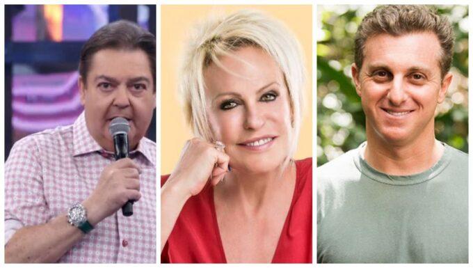Conheça os maiores salários entre os famosos da TV brasileira