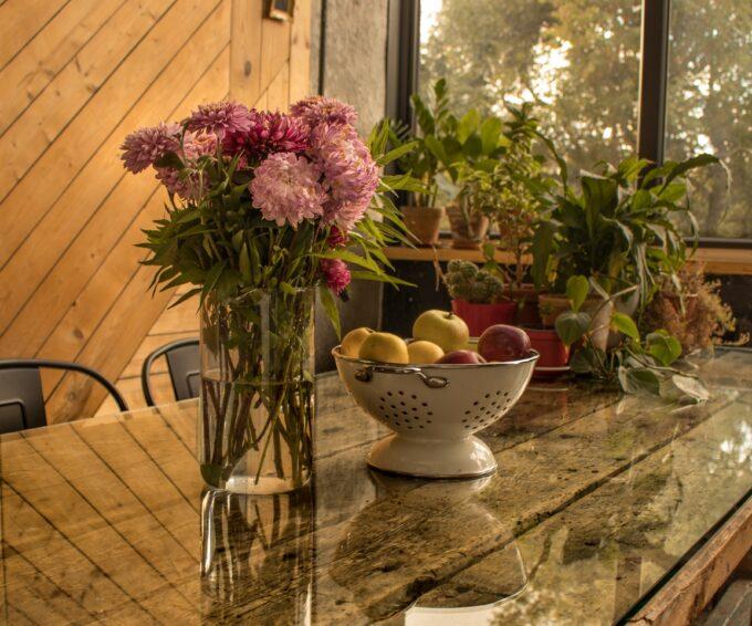 Até no arranjo de flores, o sal é útil por Maria Eugênia Cerqueira