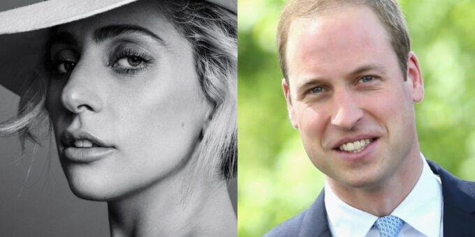 Lady Gaga intervém e consegue convencer Príncipe William a apoiar instituição LGBT