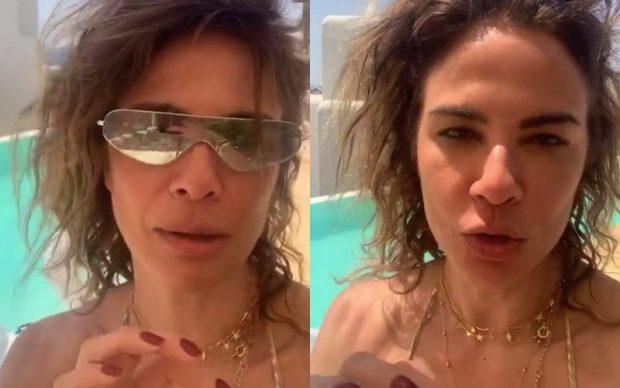 """Luciana Gimenez rasga o verbo sobre suposto relacionamento e expõe acompanhante: """"Não vou mentir"""""""