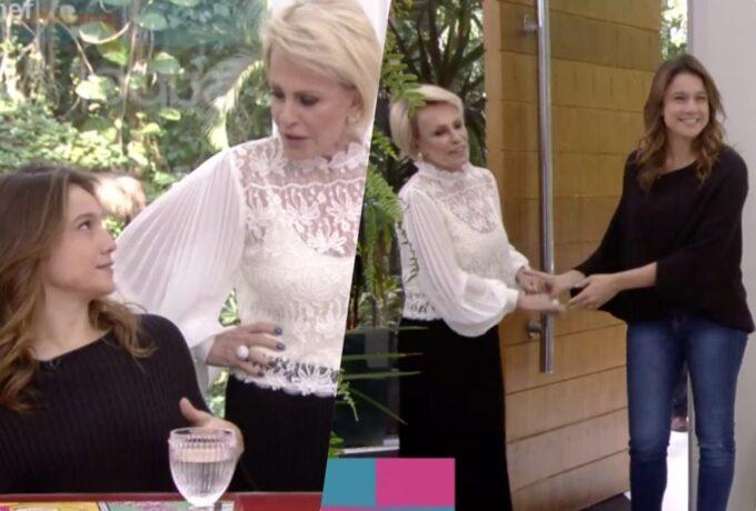 Ana Maria Braga tenta salvar Fernanda Gentil em situação na Globo, ganha resposta e leva duro fora