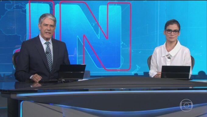 Globo prepara novidades para o JN com novos eventos e substitutos de William Bonner e Renata Vasconcellos