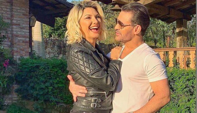 Antonia Fontenelle posta foto com Eduardo Costa e novidade do relacionamento dos dois é divulgada