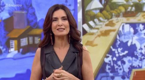 """Fátima Bernardes dá notícia contrariada ao vivo no Encontro e rebate: """"Não queria, mas sou obrigada"""""""