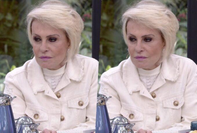 """Ana Maria Braga fica sem chão com fala de convidado sobre ela ao vivo na Globo: """"Eu preciso repensar isso"""""""