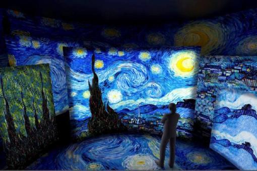 Tv Catia Fonseca Passeios em São Paulo no final de semana por Reinaldo Calazans - Expo Van Gogh
