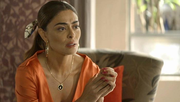 A Dona do Pedaço: Maria da Paz descobre por que Josiane a odeia tanto e se desespera