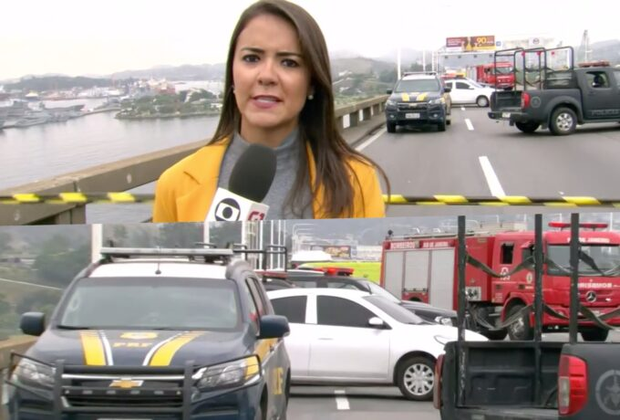 """Globo transmite sequestrador sendo morto ao vivo e repórter entra em estado de pânico: """"Muitos tiros"""""""