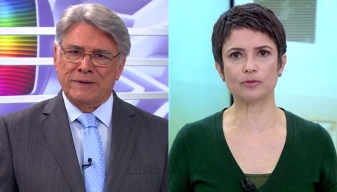 Sérgio Chapelin é tirado da Globo, conta apelo da emissora e dá veredito sobre Sandra Annenberg fica no lugar dele