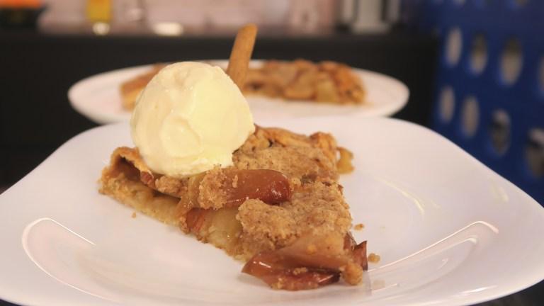 Crostata de maçã espetacular da Catia!