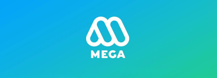 Logotipo actual de Mega, desde 2015.
