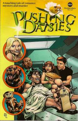 Pushing Daisies Comic Book