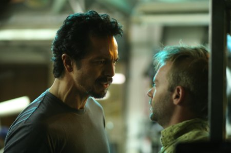 The Cleaner - Benjamin Bratt as William Banks and Esteban Powell as Arnie Swenton