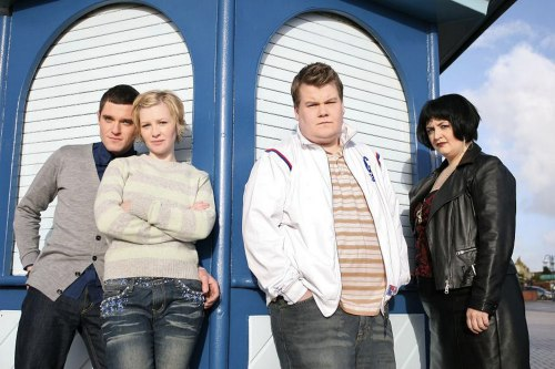 Gavin & Stacey - Mathew Horne, Joanna Page, James Corden, and Ruth Jones