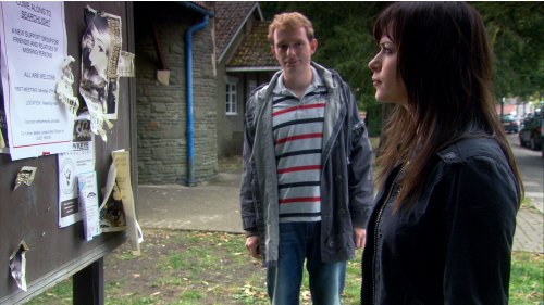 TORCHWOOD - Eve Myles as Gwen and Tom Price as PC Andy in