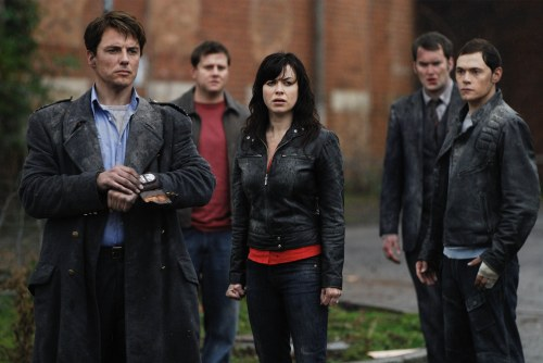 Torchwood -  John Barrowman as Captain Jack Harkness, Kai Owen as Rhys, Eve Myles as Gwen, Gareth David-Lloyd as Ianto and Burn Gorman as Owen